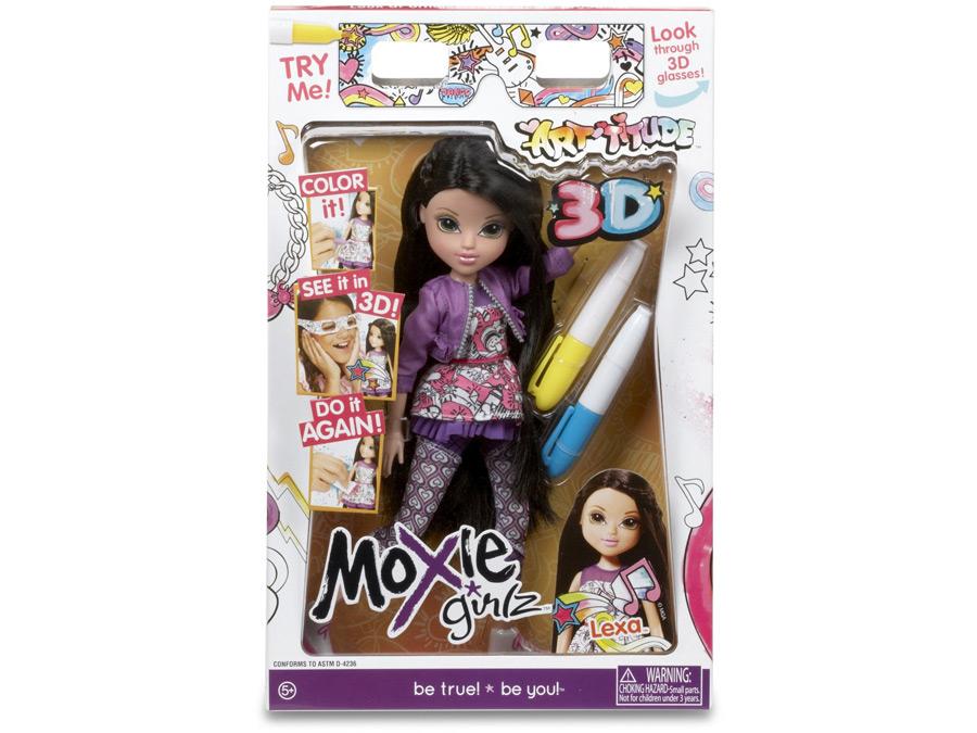 Кукла мокси прически